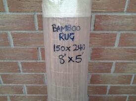 BAMBOO RUG BRAND NEW.