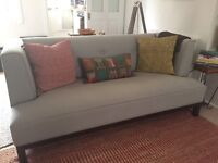 Apartment Nines Loveseat (grey) from Crate and Barrel (US)