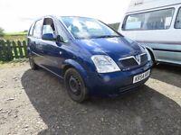 Vauxhall Meriva 17 CDTi