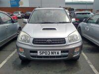 2003 Toyota Rav4 spare or repairs