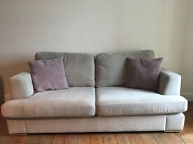 3 seat sofa in excellent condition still under guarantee