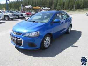 "2017 Chevrolet Sonic LT 5 Passenger, 15"" Wheels, Backup Camera"