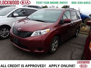 2012 Toyota Sienna 7 PASSENGER, KEYLESS ENTRY, FOLDING SEATS