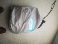 High quality inflatable bed (large single), never used!