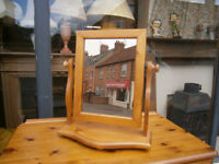 pine dressing mirror ducal pine chival mirror