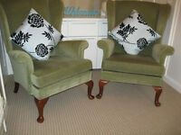 Pair Parker knoll Original/vintage in family from new