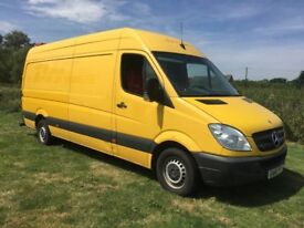 2011 MERCEDES Sprinter 313CDI LWB,High Roof,1 year MOT,easy to convert TYRE FITTING VAN,CAMPER VAN