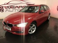 BMW 3 SERIES 2.0 320d BluePerformance SE Touring 5dr (start/stop) (red) 2013