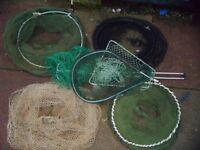 Job Lot - Fishing/Nets - All Good.