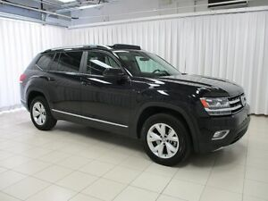 2018 Volkswagen Atlas HURRY IN TO SEE THIS BEAUTY!! V6 4MOTION A