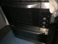 AEG built under double oven. Not working Parts only