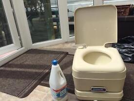 Campingaz toilet.