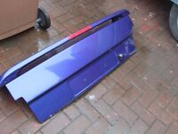 FORD ESCORT MK 4 convertible XR3i boot lid with spoiler and stop light built in