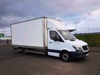 From £18/h Large Man with Large Luton Van 1st class Removal Edinburgh & Scotland