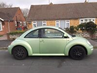 Volkswagen Beetle 2.0 petrol electric windows heated seats lovely ccar to drive MOT January 2017