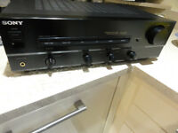 Powerful Sony Amplifier with Record-player input perfect working order With Record-player input