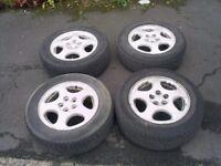"Subaru 15"" 5x100PCD Alloy Wheels For Impreza/Legacy Forester"