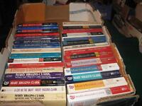Mary higgins clark books $1 each or $25 for the lot