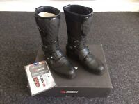 SIDI ADVENTURE GORETEX MOTORCYCLE MX BOOTS EU 44 UK 9.5 BOXED