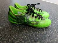 Adidas football boots kids size 2