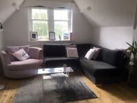 2 double bedroom flat, 3 minute walk from station, beautiful and spacious