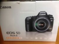 Canon 5d MK2 with 24-105 L Lens and 77mm lens filter