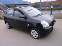 2006 KIA PICANTO1.1 HATCHBACK 5DOOR FULL SERVICE HISTORY, NEW CLUTCH KIT 58K, DRIVES LIKE NEW