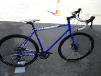 Reynolds 631 Steel Raleigh Maverick Elite All Round Bike Brand New Disc Brakes