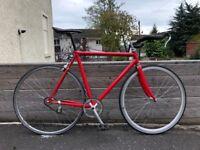 Single Speed/Fixie Road Bike - 56cm frame