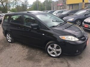 2007 Mazda MAZDA5 GT/6PASS/PWR ROOF/LOADED/ALLOYS