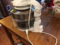 Cookshop 12L 17L Halogen Oven with Hinged Lid Multi Cooker with Convection