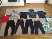 Boys age 4-5 mostly next clothes - mostly new!!