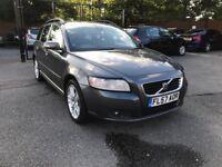 57 plate - Volvo V50 SE -estate - 5 months mot - warranted miles - 2 former keepers - camblet done