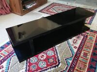 NEXT Black hi gloss finished TV/Entertainment stand