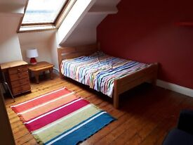 Spacious double room to let in a shared house in Heaton