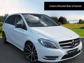 Mercedes-Benz B Class B200 CDI BLUEEFFICIENCY SPORT (white) 2014-09-19