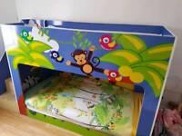 Animal theme bunk bed