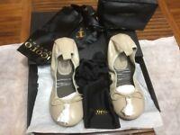 BRAND NEW Cocorose London Ballerina Shoes Nude Beige UK 3-4 Petite RRP €125 / £115