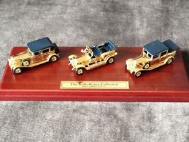 Lledo - The Rolls-Royce Collection -Ltd Edition 24 Carat Gold Plated 3 Car Set