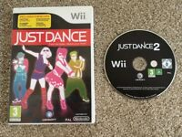 Wii Just Dance & Just Dance 2 Games