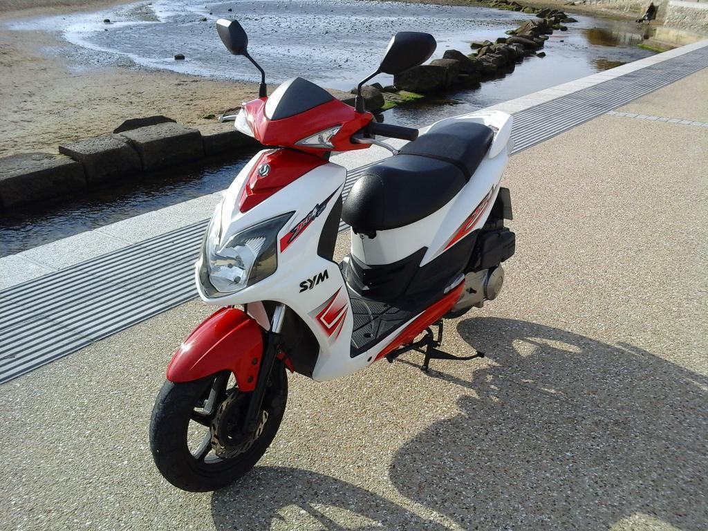 фото скутера sym jet 4 125cc