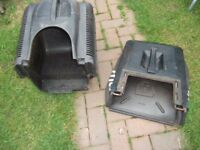 ASSORTMENT OF LAWNMOWER GRASS BOXES