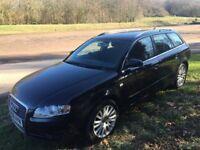 Audi A4 Avant 2.0 TDI. SE M-T CVT. Black Estate