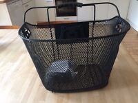 Black Wire Bike Basket Brand New