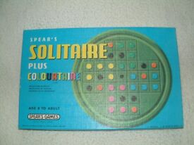 Spears Solitaire Plus Colourtaire 2211. This item may date back to the 1970's has never been used
