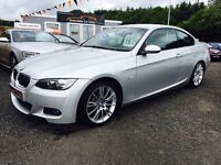 2009 BMW 325D M sport coupe E92, 12 months warranty, 2 years MOT and servicing Finance available