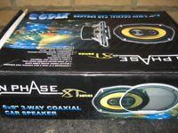 InPhase 6x9 3 Way Coaxial XT Series Speakers x2 BNIB (XT693)