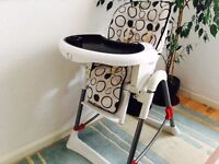 Baby Highchair Adjustable Chair