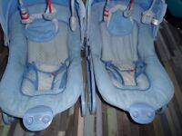 x 2 Baby Bouncer Chairs