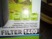 Aquael external filter